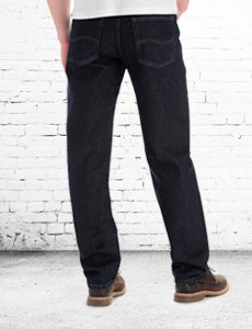 Slightly tapered fit