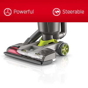 a bagless upright vacuum that delivers confident wholehome cleaning at your fingertips with no loss of suction exclusive windtunnel 3 technology