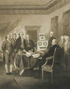 Robot Founding Fathers