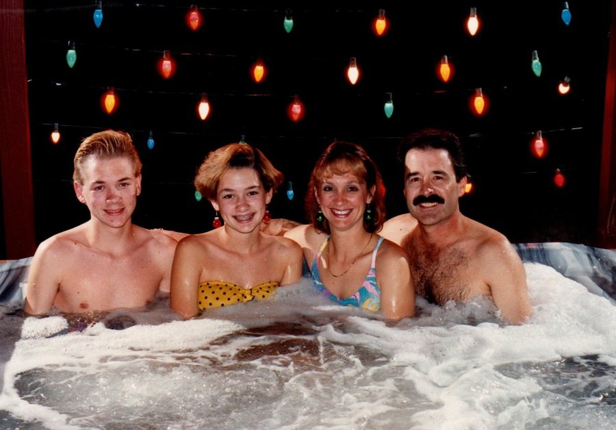 HOT TUB TIME MACHINE: So what if the weather outside is frightful?