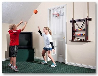 SlamJamatthome & Spalding NBA Slam Jam Over-The-Door Mini Basketball Hoop New ... Pezcame.Com