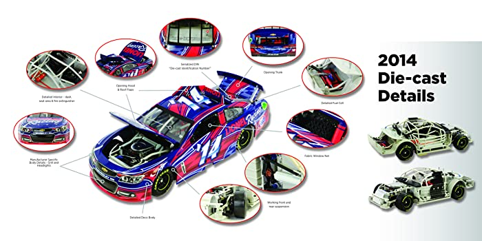 Action Racing Collectables Die-cast Details.