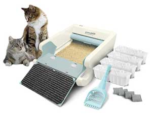 Littermaid LM980 Mega automatic litter Box Review