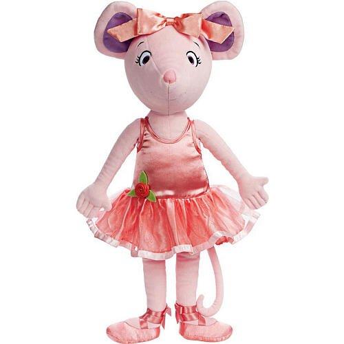 Amazon.com: Madame Alexander, Angelina Ballerina Cloth Doll, Angelina
