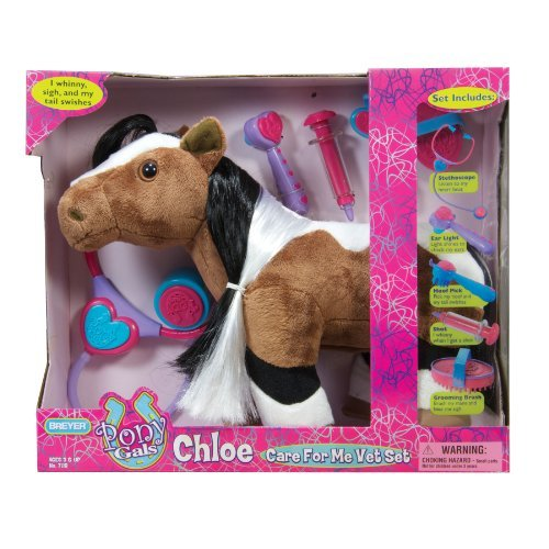 set includes everything a future vet needs to take good care of Chloe