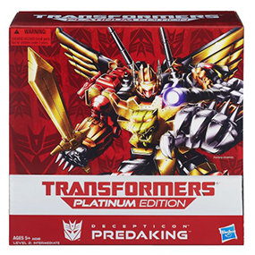 Get a 5-in-1 force of Predacons with this incredible Predaking figure.