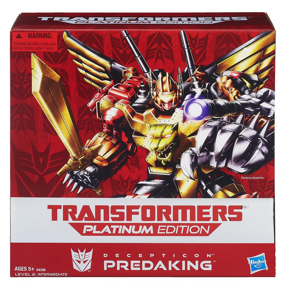 Edition Platinum: Amazon.com: Transformers Platinum Edition Predaking Figure