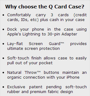 What Choose the Q Card Case?