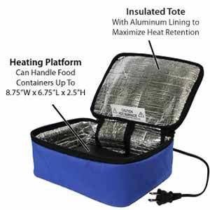 Amazon Com Hotlogic Mini Personal Portable Oven Blue