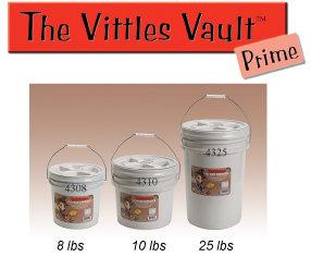 Vittles Vault Round