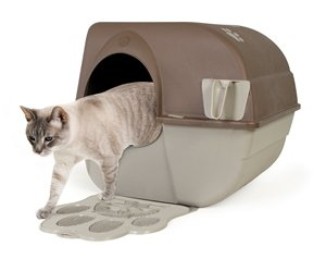 Compliments Roll Away Self Cleaning Litter Box Perfectly