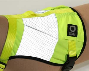 Stunt Puppy Go Dog Glo High Visibility Dog Vest