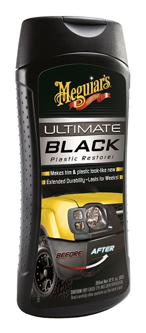 Image Black interior car trim restorer