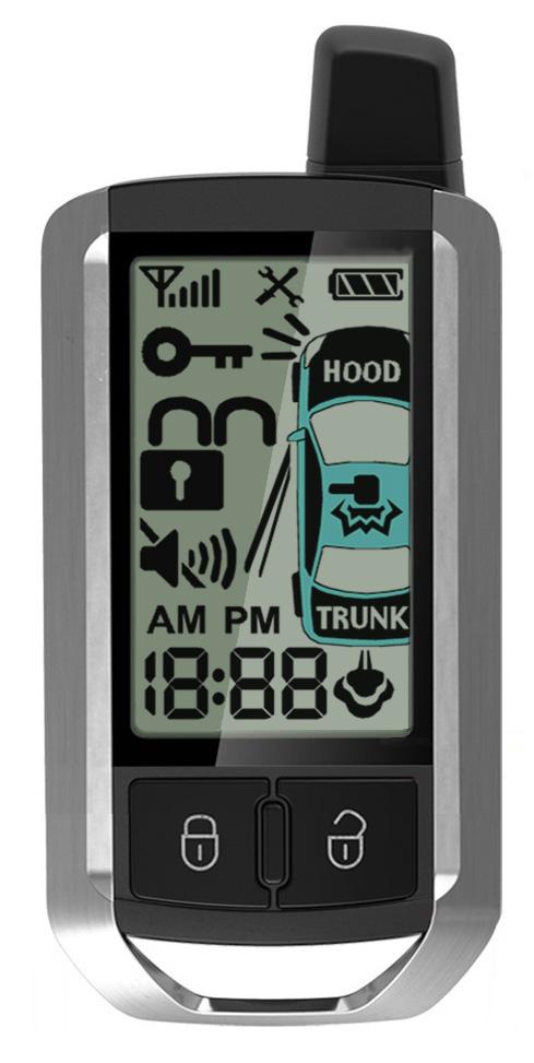 Crimestopper RS4-G4 Cool Start 1-Way Remote Start System