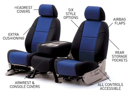 FORD EXPLORER 1997-2001 LEATHER-LIKE CUSTOM SEAT COVER