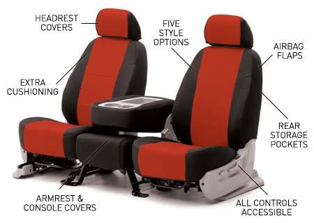 For Ford Flex 2009-2011 CalTrend DuraPlus Custom Seat Covers