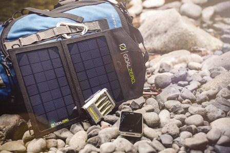 The Goal Zero Guide 10 Adventure Kit is lightweight and easy to use.