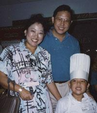 Eddie Huang and parents