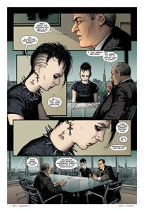 The Girl With The Dragon Tattoo Graphic Novel Page 3
