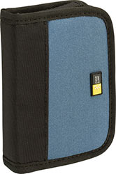 Case Logic JDS-6 USB Drive Shuttle 6-Capacity - Black/Blue