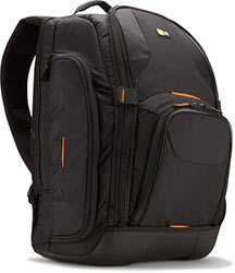 Case Logic SLRC-206 SLR Camera and 15.4-Inch Laptop Backpack - Black