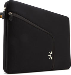 Case Logic PAS-213 13-Inch Macbook Neoprene Sleeve (Black)