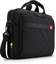 Case Logic DLC-115 15.6-Inch Laptop and Tablet Briefcase - Black