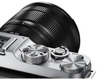 """Fujifilm X-M1 Compact System 16MP Digital Camera Kit with 16-50mm Simple """"One Handed"""" Operation"""