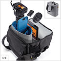 Case Logic FLXB-102 dedicated storage in removable cinch-top pod