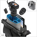 Case Logic FLXM-101 dedicated storage in removable cinch-top pod
