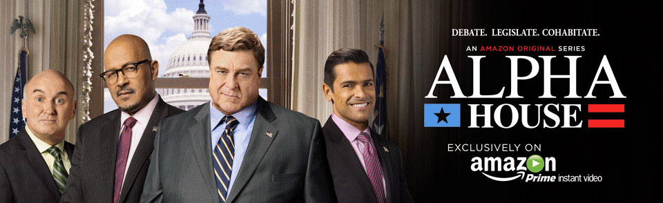 Watch Alpha House Exclusively on Amazon Prime Instant Video