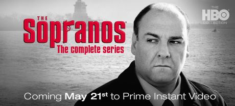 The Sopranos (The Complete series): Coming May 21st to Prime Instant Video