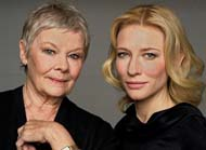 Cate Blanchett and Judi Dench on their characters in the film