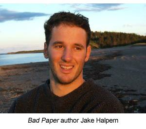 Bad Paper author Jake Halpern