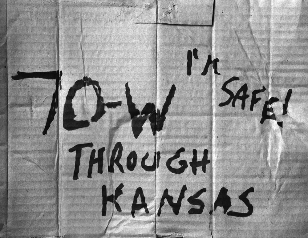 70-W THROUGH KANSAS I'M SAFE!