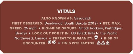 Bigfoot Vitals