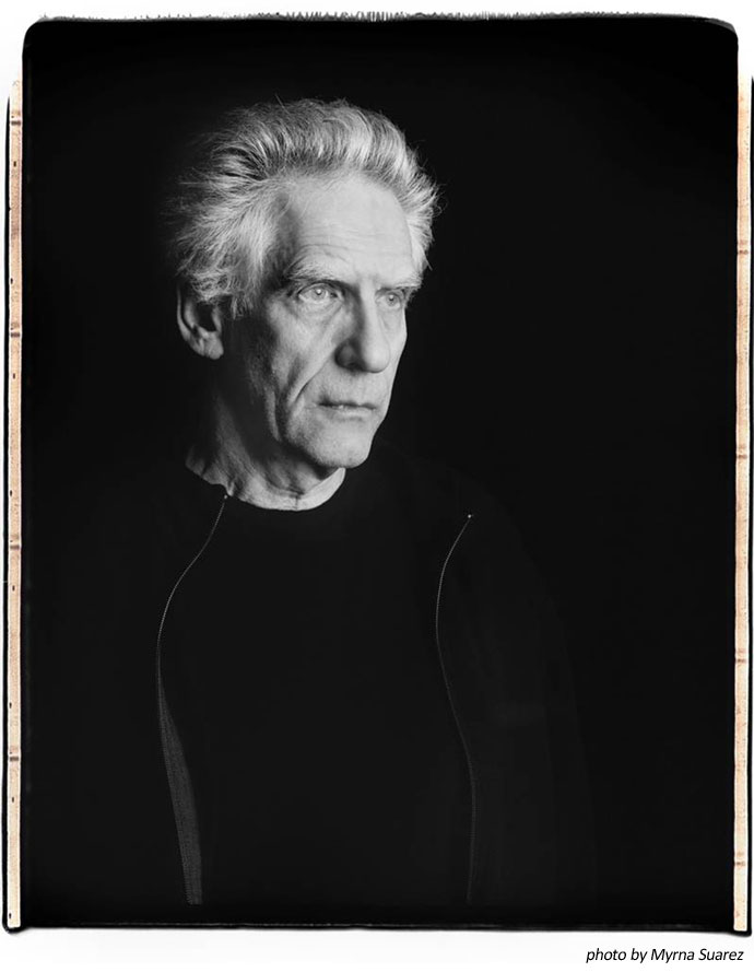 David Cronenberg by Myrna Suarez