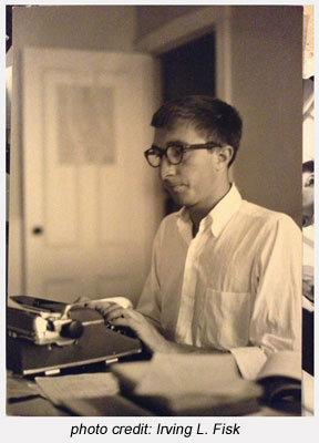 John Updike (photo by Irving L. Fisk