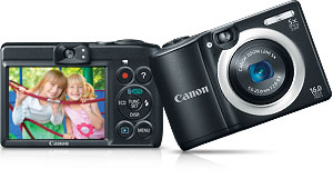 a1400 main. V395853839  Canon PowerShot A2500 16MP Digital Camera with 2.7 Inch LCD (Red)