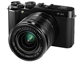 The FUJIFILM X-A1