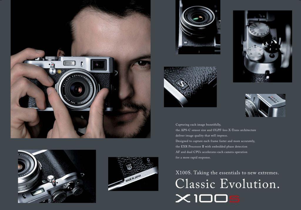 Amazon.com : Fujifilm X100S 16 MP Digital Camera with 2.8