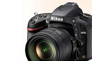 Foto del producto de la Nikon D610 D-SLR