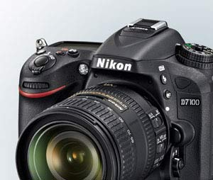 Nikon D7100 24.1 MP Digital SLR Camera 18-105mm Nikon D7100 D-SLR product photo