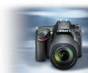 Photo of the Nikon D7200 DSLR