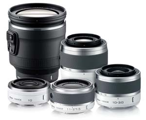 Nikon 1 image quality is in its superior 1 NIKKOR lenses