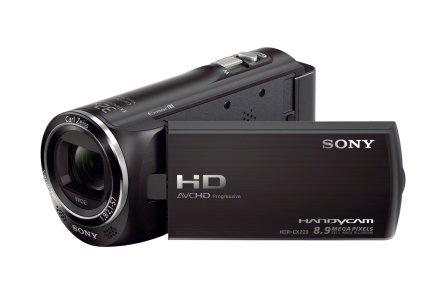 Amazon.com : Sony HDR-CX220/B High Definition Handycam Camcorder with