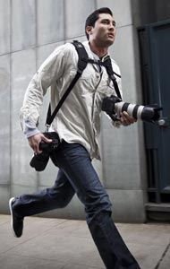 The Double camera strap by BlackRapid