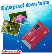 Waterproof down to 5m