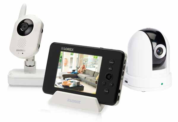 LW242B Digital Wireless Home Monitoring System