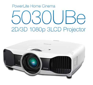 PowerLite Home Cinema 5030UBe 2D/3D 1080p 3LCD Projector